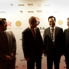 Konsul Japans, Generalkonsul Koreas, Generalkonsul Chinas, Präsident der HCG