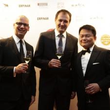 Moët Hennessy Peter Schrottka, Andreas Stüber, Präsident der HCG Qiuyi Chen