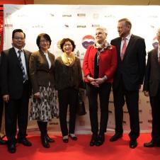 Präsident der HCG, Generalkonsul Chinas, Generalkonsul der Russischen Föderation, Konsul Japans