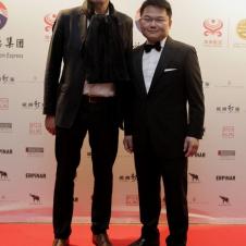 Stefan Matz und Qiuyi Chen