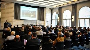 Ca. 130 interessierte Hörer im Alber-Schaäfer-Saal der Handelskammer Hamburg