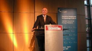 Begrüßung Dr. Klaus Wehmeier - Stell. Vorsitzender von Körber-Stiftung